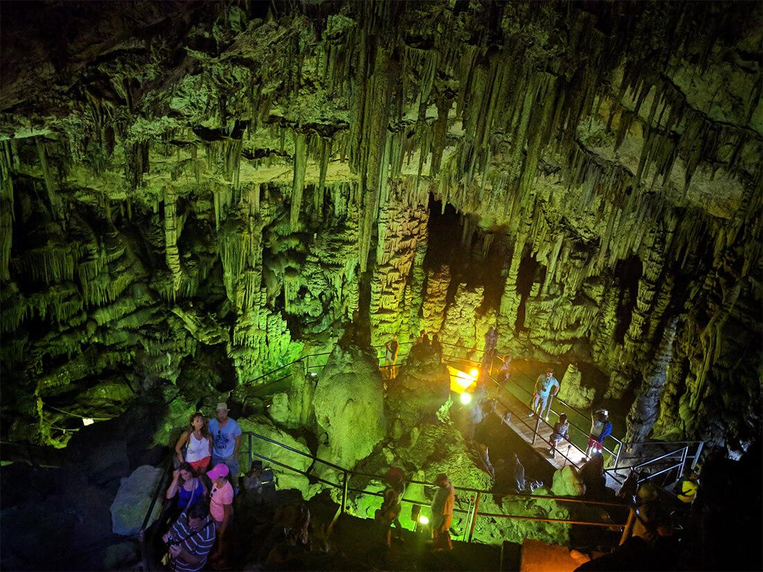 Экскурсия в пещеру Зевса на Крите