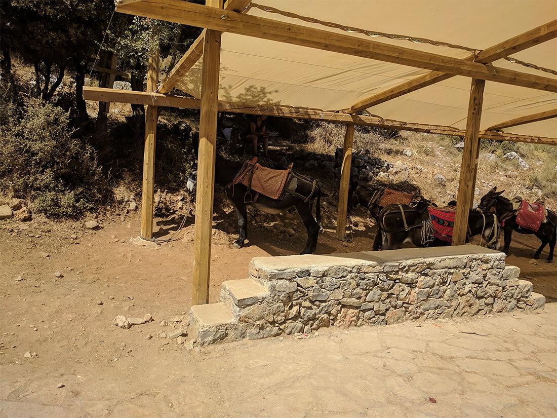 тропа к критской пещере Зевса